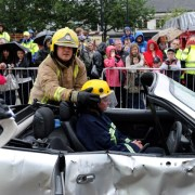 Fire Engine Rally is success in new home
