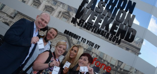 West College Photography Students visit London Fashion Week