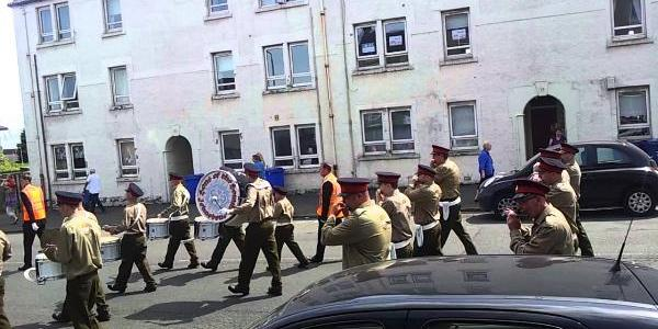 Weekend loyalist march arrest free