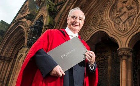 Paisley inventor of PIN and ATM technology receives Honorary Doctorate