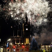 Paisley Christmas Lights Switch-on 2016
