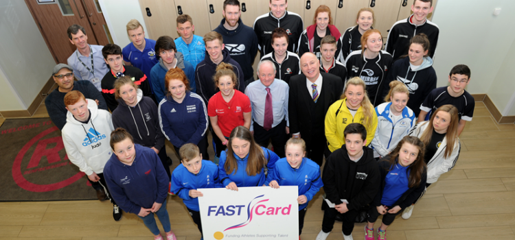 Young athletes on FAST track to success