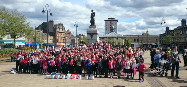 Video: Auchenlodment Primary School pupils say thanks!