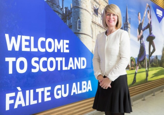 Amanda McMillan, Managing Director of Glasgow Airport