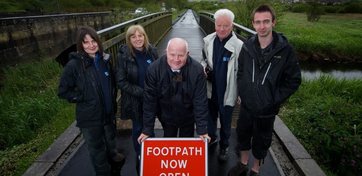 Upgraded Lochwinnoch footpath has reopened