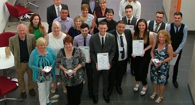 20 Renfrewshire Leisure staff presented with Achievement Awards