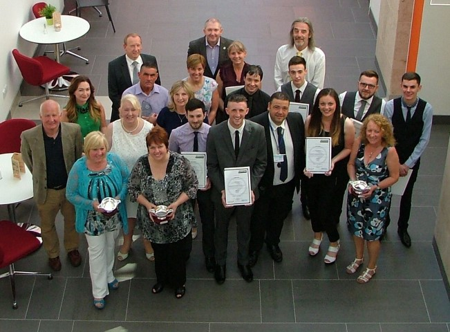 Renfrewshire Leisure staff who won Achievement Awards