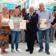Carers turn to be cared for at intu Braehead