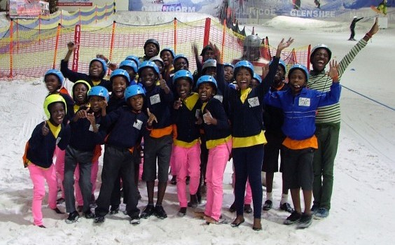 Singing Children of Africa choir treats Intu Soar with impromptu performance