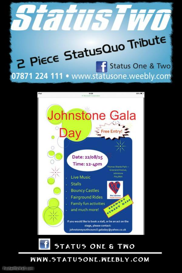 Johnstone Gala Day