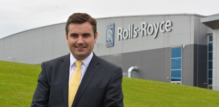 Rolls-Royce announce investment of around £60m at their Inchinnan facility