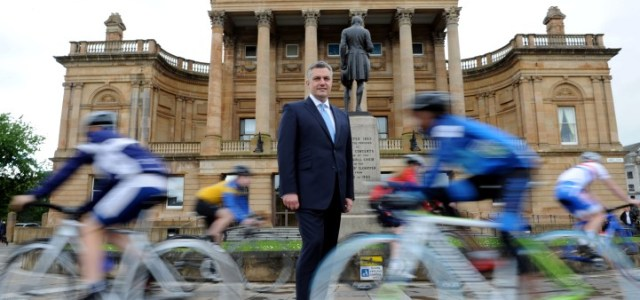 Paisley set to host cycling's stars of tomorrow