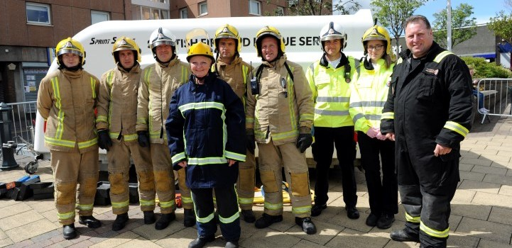Photo Special: Big crowds turn out as Fire Engine Rally returns to Johnstone
