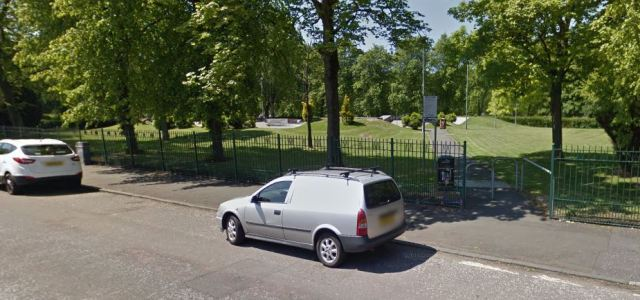 Attempted theft at Robertson Park, Renfrew