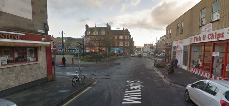 Two men seriously assaulted in William Street on Saturday afternoon in Johnstone