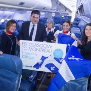 Air Transat launches new route from Glasgow to Montreal
