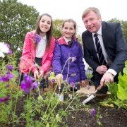 Digging deep to give pupils new garden