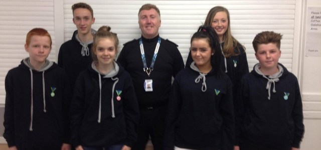 Paisley PSYV received presentation from Counter Terrorism cops