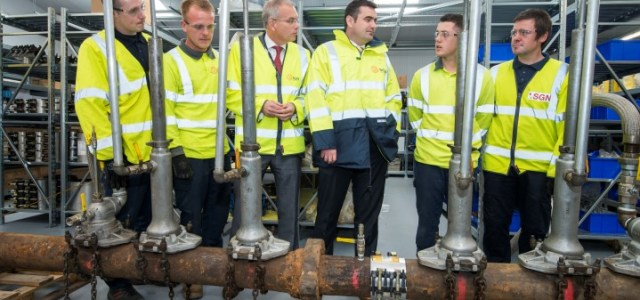 The new SGN Paisley depot opened by local MP