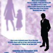 Everyone is invited to a charity clairvoyance night in aid of Paisley Maternity