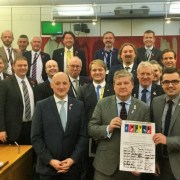 MPS celebrate 10th anniversary of white ribbon campain to end violence against woman