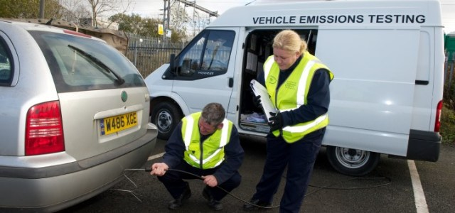 Seven drivers caught in vehicle emissions crackdown