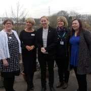 Photos: Renfrewshire MP Mhairi Black visits local Hospice