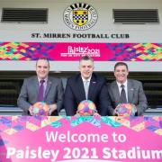 St Mirren stadium signs hailed as boost for culture bid