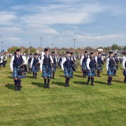 Great start to the season by Johnstone Pipe Bands