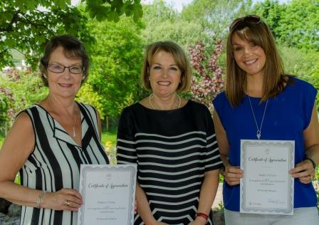 Staff and volunteers celebrated at St Vincent's Hospice
