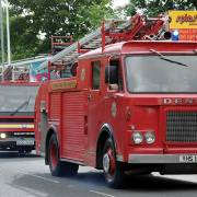 Don't miss out on the Fire Engine Rally returning to Johnstone this morning