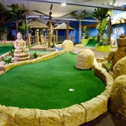 Tee off in The Open Championship at Paradise Island Adventure Golf – Braehead