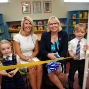 Pupils book in for new early-years library