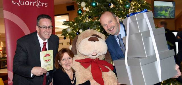 Quarriers fundraiser, hosted by Fred MacAulay, to support people with dementia