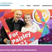 Find out about the benifits of Credit Unions in Renfrewshire with new website launched to raise awareness