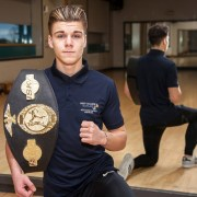 Sports student wins four kickboxing titles in one year