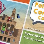Paisley Comic Con at Paisley Town Hall on 8th April