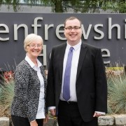 Councillor Jim Paterson and Councillor Cathy McEwan seeking re-election