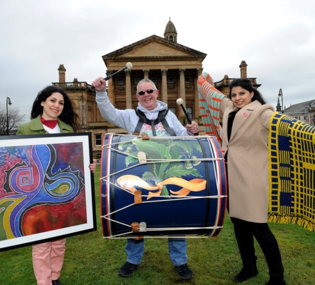 Paisley's global weaving story to be retold during festival