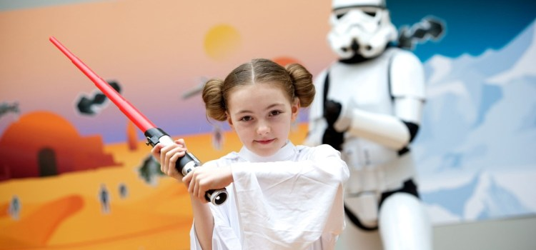 Real-life Princess Leia launches Star Wars toys exhibition