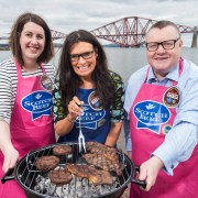 Rain or Shine, Judith Launches BBQ Time for St Vincent's Hospice and ACCORD Hospice