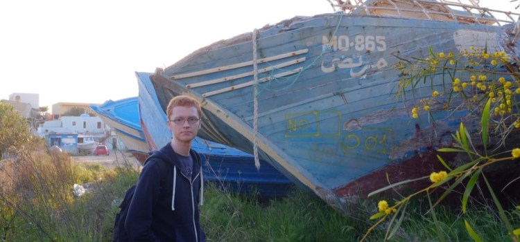 MSP Ross Greer visits Italian refugee projects