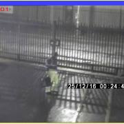 Police release images of a man they wish to speak to in relation to a series of motor vehicle break-ins