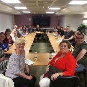 New Renfrewshire SNP Councillors meet for the first time after election