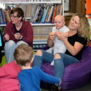 Photo Special: Fun and laughter at marathon Bookbug session held at Paisley Central Library