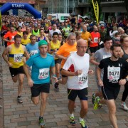 Paisley 10k runners at the double