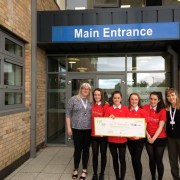 Linwood High School pupils win £3,000 for St Vincent's Hospice
