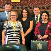 Gavin Newlands MP re-elected to lead White Ribbon group in UK Parliament
