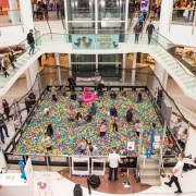 Shoppers take a dive into UK's biggest ball pool this weekend at intu Braehead