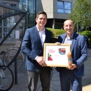UWS receives Cycle Friendly Campus Award from Cycling Scotland
